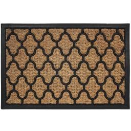 paillasson rectangle 40 x 60 cm coco+caoutchouc erwan