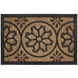 paillasson rectangle 40 x 60 cm coco+caoutchouc lenaic