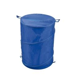 Panier a linge pop up 63l bl roi douceur d'interieur theme vitamine 100% polyest Bleu roi