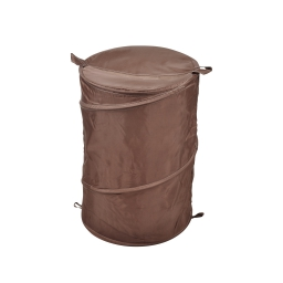 Panier a linge pop up 63l choco douceur d'interieur theme vitamine 100% polyest Chocolat