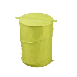 Panier a linge pop up 63l  douceur d'interieur theme vitamine 100% poly Vert anis