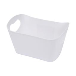 paniere rangement plastique l22.5*p14.5*h13cm vitamine blanc