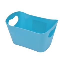 paniere rangement plastique l22.5*p14.5*h13cm vitamine bleu ocean