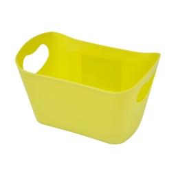 paniere rangement plastique l22.5*p14.5*h13cm vitamine vert anis