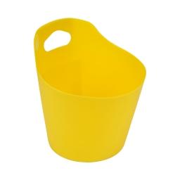 paniere ronde plastique o14.5cm vitamine jaune