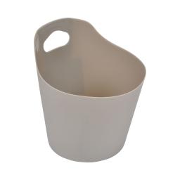 paniere ronde plastique ø14.5cm vitamine taupe
