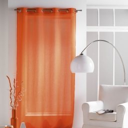 Panneau a oeillets 140 x 240 cm voile crash paloma Orange