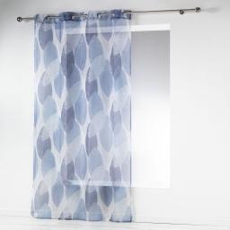 panneau a oeillets 140 x 240 cm voile imprime transfert blue automn