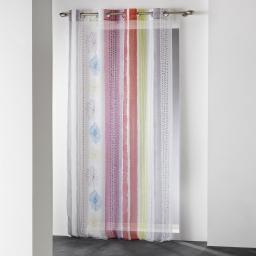 panneau a oeillets 140 x 240 cm voile imprime transfert lolia