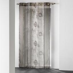 Panneau a oeillets 140 x 240 cm voile imprime transfert nunoa Naturel