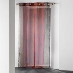 Panneau a oeillets 140 x 240 cm voile imprime transfert nunoa Rouge