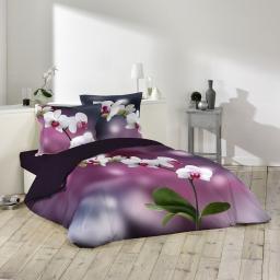 parure 3 p. 240 x 220 cm imprime 42 fils dessin place orchideis