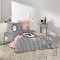 parure 3 p. 240 x 220 cm imprime 57 fils dessin place boudoir