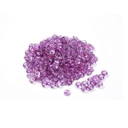 perles de pluie decoratives prune 120grs - env. 6-7mm