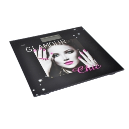 pese-personne digital verre glam chic