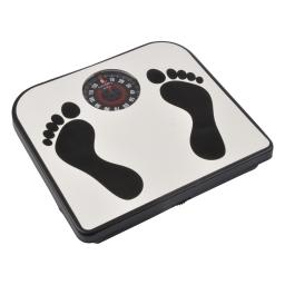 pese-personne mecanique imprimé pieds
