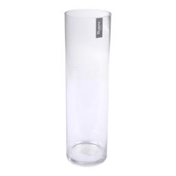 photophore allongé verre transparent ø10*h35cm