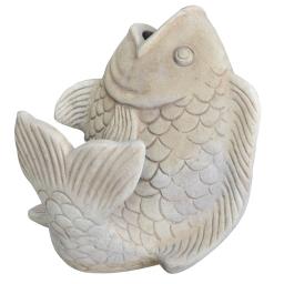 poisson terracotta l44*p44*h46cm