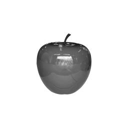 pomme polyresine 35*h30cm gris