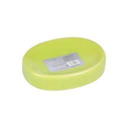 porte-savon ceramique vitamine vert anis
