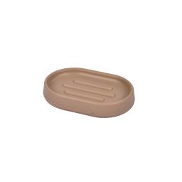 Porte-savon design  plastique vitamine Taupe