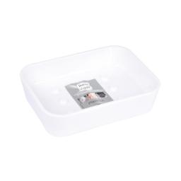 Porte-savon effet soft touch  douceur d'interieur theme vitamine Blanc