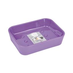Porte-savon effet soft touch  douceur d'interieur theme vitamine Prune