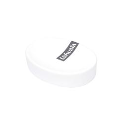 porte-savon effet soft touch theme bali blanc - ushuaia