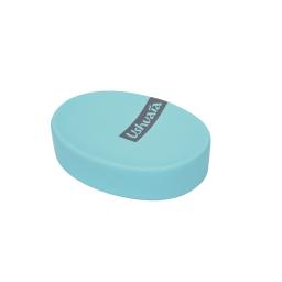 porte-savon effet soft touch theme bali bleu - ushuaia