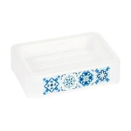 porte-savon plastique imprimé tiles