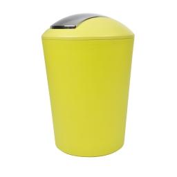 poubelle a bascule flic-flac plastique 5,6l vitamine anis