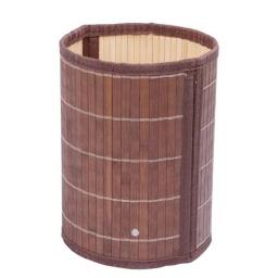 poubelle bamb vernis wengue 6l