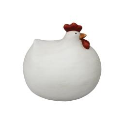 poule ceramique 31.7*27.3*h29.2cm