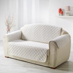 Protege fauteuil matelasse 165 x 179 cm microfibre unie club Naturel