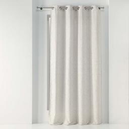 rideau a oeillets 140 x 260 cm jacquard lonae