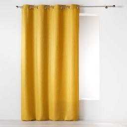 Rideau a oeillets 140 x 260 cm jacquard riad Miel