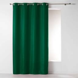 Rideau a oeillets 140 x 260 cm jacquard riad Vert