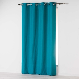Rideau a oeillets 140 x 260 cm microfibre unie absolu Bleu