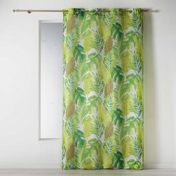 rideau a oeillets 140 x 260 cm polyester imprime akena
