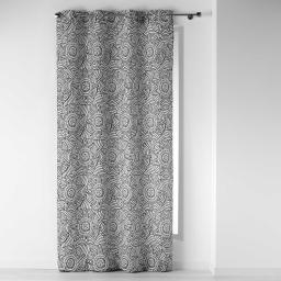 rideau a oeillets 140 x 260 cm polyester imprime dalamo