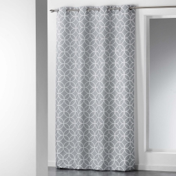 rideau a oeillets 140 x 260 cm polyester imprime dario