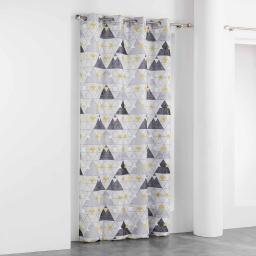rideau a oeillets 140 x 260 cm polyester imprime ipanoe