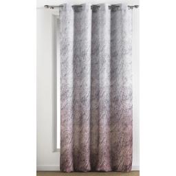 rideau a oeillets 140 x 260 cm polyester imprime pelisse