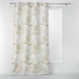 rideau a oeillets 140 x 260 cm polyester imprime toumy