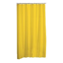 rideau de douche peva 180*h200cm vitamine jaune