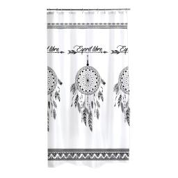 rideau de douche polyester 180*h200cm esprit libre