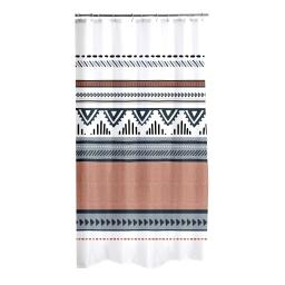rideau de douche polyester 180*h200cm ethnic folk