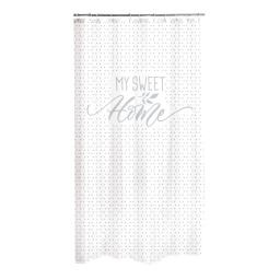 rideau de douche polyester 180*h200cm home grey