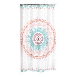 rideau de douche polyester 180*h200cm mandala