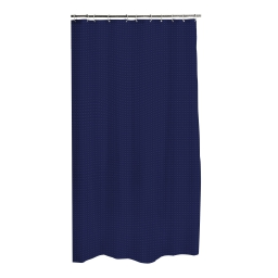 rideau de douche polyester 180*h200cm vitamine indigo